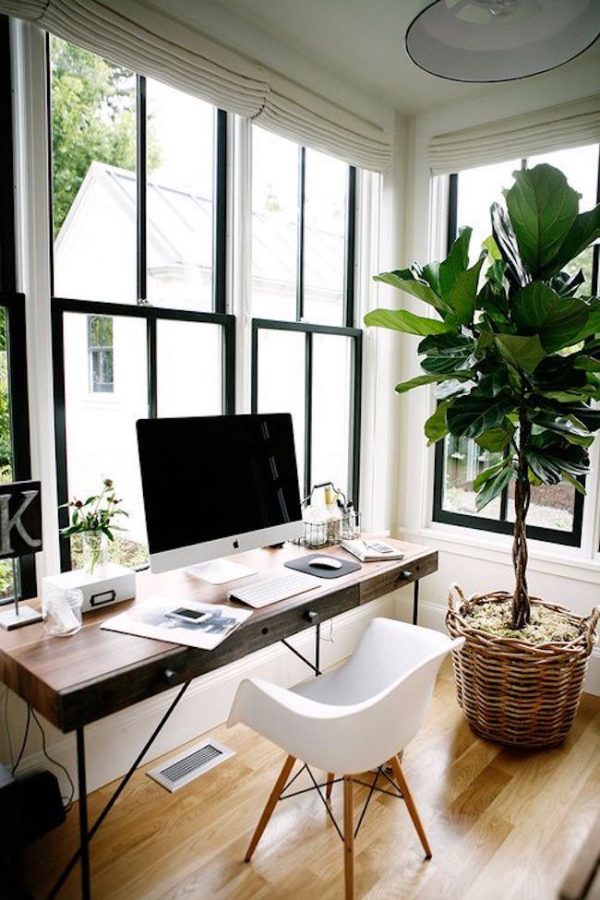 luz natural home office