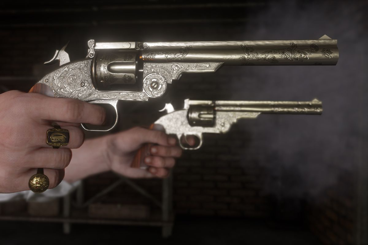 red dead redemption armas